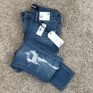Express Legging Jeans MidRise 0 Short